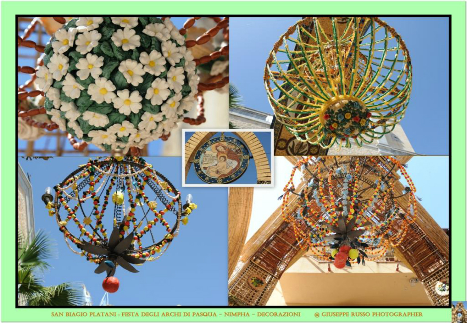 3 NIMPHA (decorazione con pasta semi e cereali)