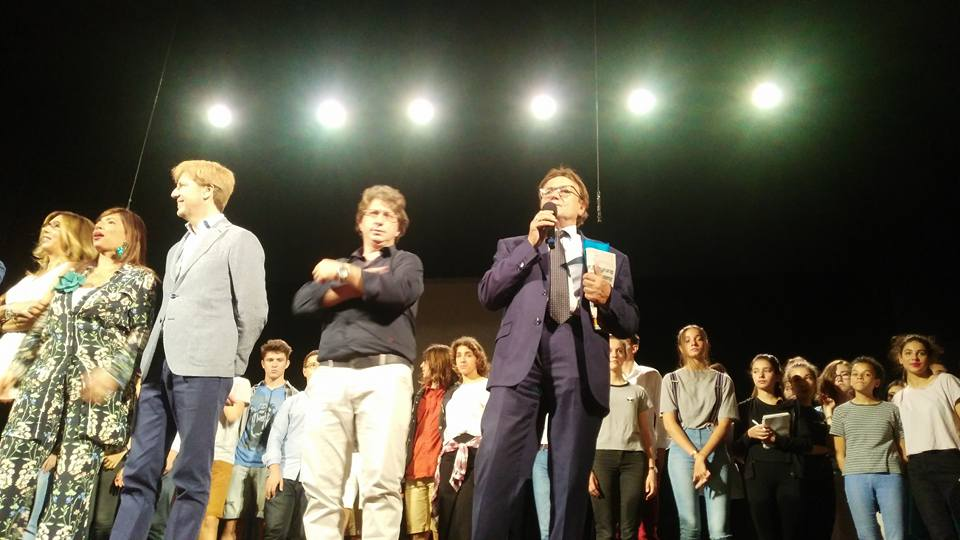 Da sx Lillo Firetto, Domenico Boscia e Alfredo Prado