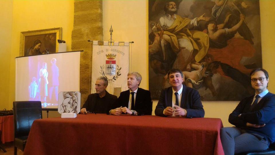 Nella foto Gaetano Aronica, il Sindaco Firetto, Peppe Zambito., lassessore Biondi