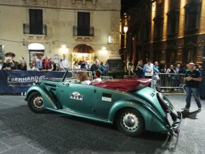 Auto storiche Raid dell'Etna