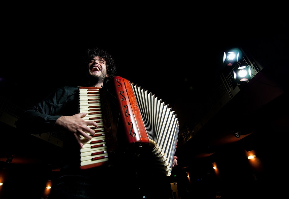 Roberto Gervasi alla fisarmonica