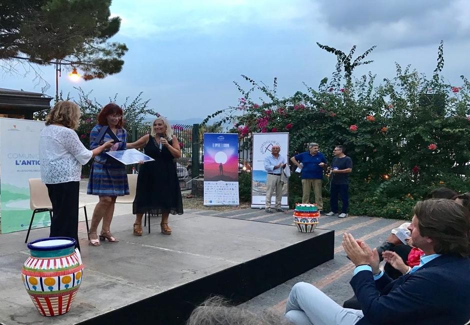da  sx, Gabriella Tigano, Vera Greco e Fulvia Toscano